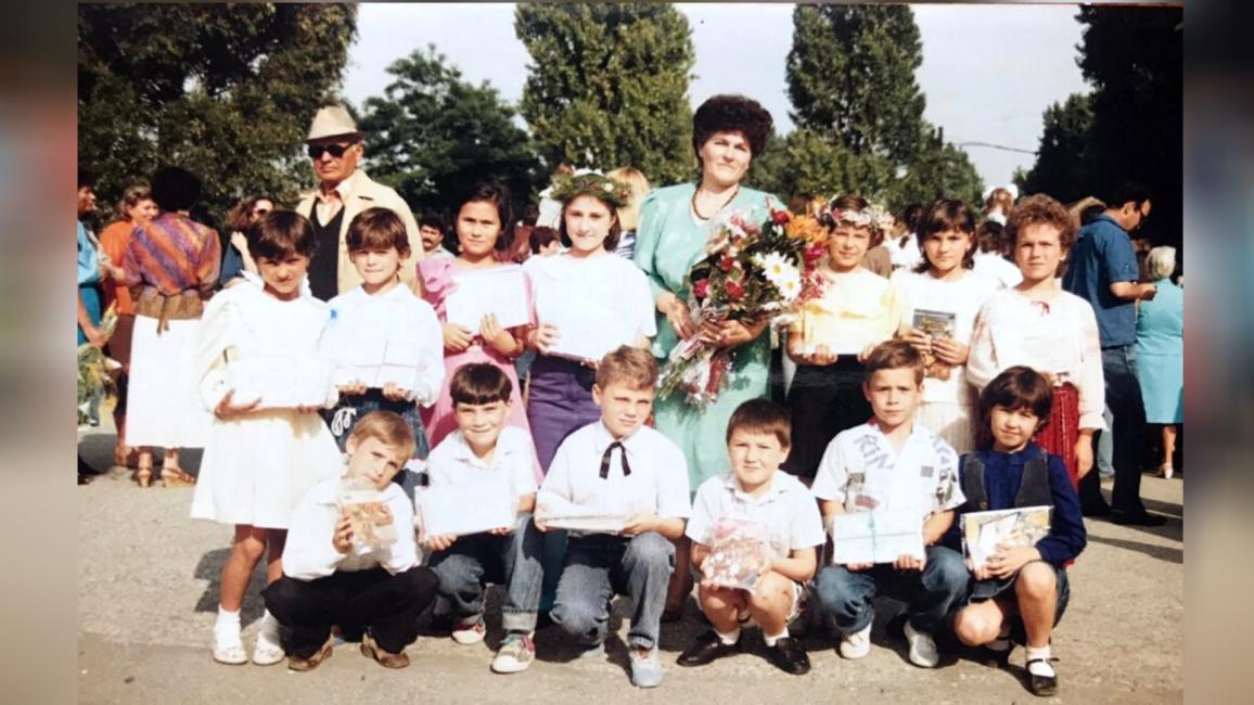 Florentina în primii ani de școală
