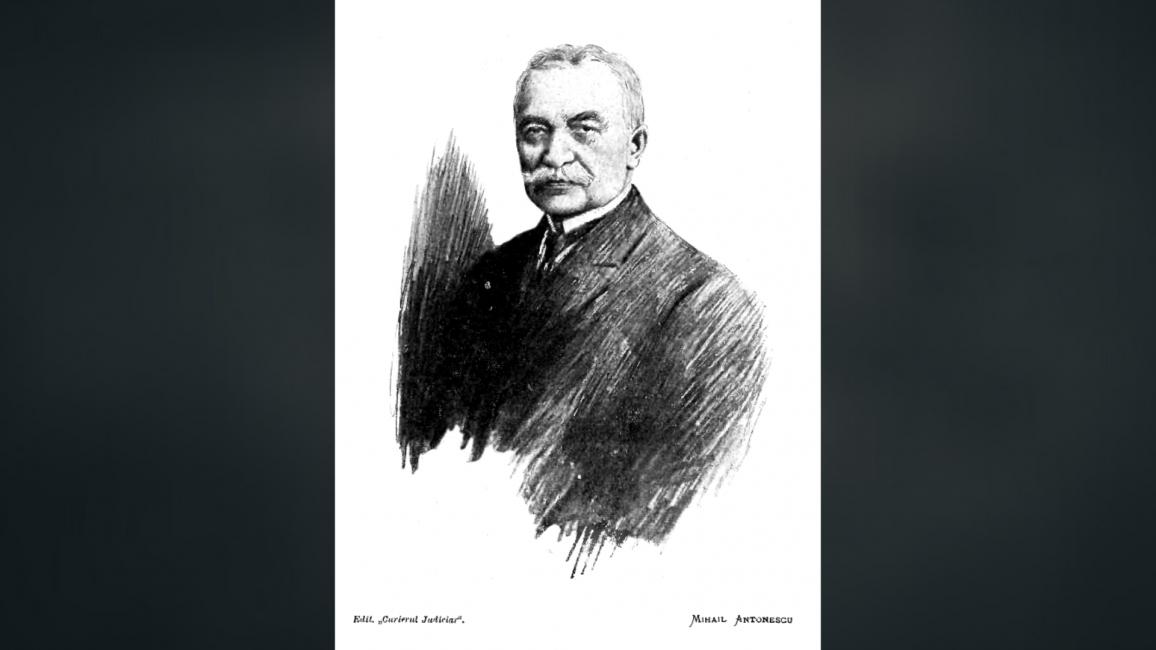Avocatul Mihail Antonescu din partea Ministerului Instrucțiunei Publice