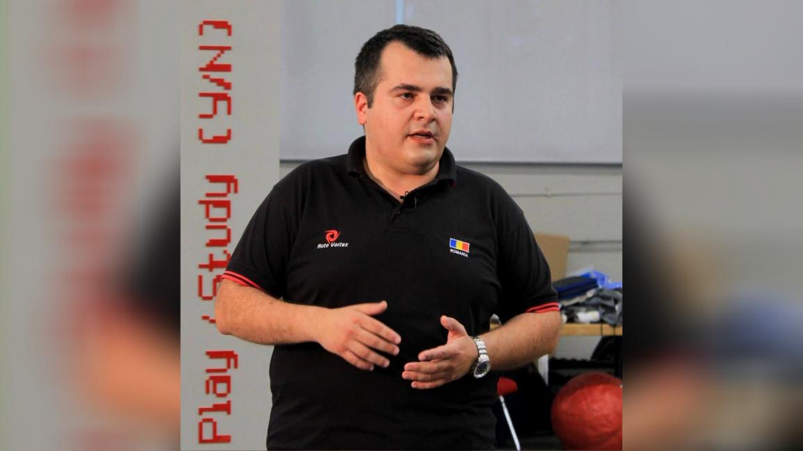 Ionuț Panea coordonatorul echipei AutoVortex