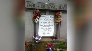 Mormântul familiei Blaga din Sibiu